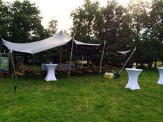 Mooie event locatie. Safaritent op de hei Den Treek. Catering Daily Deli