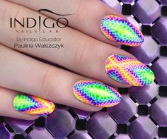 Summer Nail Trend! Beautiful and Colorful Look, Eye Catching and Will Make You Look Tan