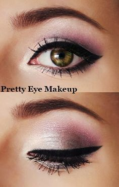 Pretty eyes.  Beautiful make up
