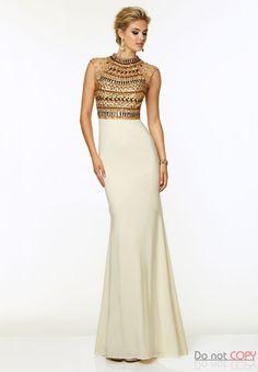 Hot Sale Fashion Sparkly 2015 O-Neck Rhinestone Beaded Top Bodice Evening  Gowns  056f0e5cefdd