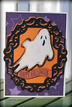 Happy Hauntings Cricut Cartridge: A Cherry On Top cricut halloween ideas Halloween Ghosts, Halloween Christmas, Halloween Crafts, Halloween Ideas, Cricut Halloween Cards, Cricut Cards, Fall Cards, Holiday Cards, Thanksgiving Cards