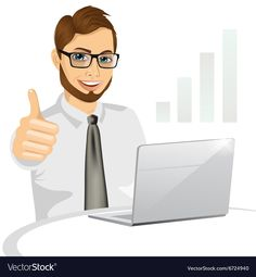 side view of a hipster business man working on laptop and making the ok gesture isolated on white background , Disney Characters, Fictional Characters, Laptop, Side View, Disney Princess, Funny, Hipster, Business, Image
