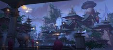 ArtStation - Time and color, G liulian Environmental Art, Dungeons And Dragons, Fantasy Art, Knight, Concept Art, Scenery, Digital Art, About Me Blog, Sketches