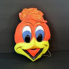 Hey, I found this really awesome Etsy listing at https://www.etsy.com/au/listing/463936354/vintage-woody-woodpecker-halloween-mask