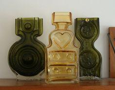 IDEA Helena Tynell glass vases.I collect Helena Tynell, Nanny Still,Tamara Aladin..I own a lot of glass !!!!