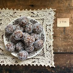 raw 'yum' plant~based power balls