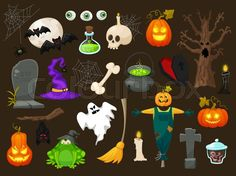 Halloween 2016. The best images and illustrations by Colourbox.