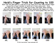 Heidisongs Resource: Teaching Kids to Count to 100