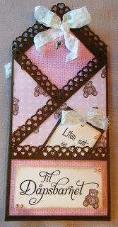 Kirstens Hobbyblogg: Dåpskort.....