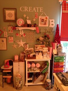 Living Happily Ever After...one year at a time: My Scrapbook Room