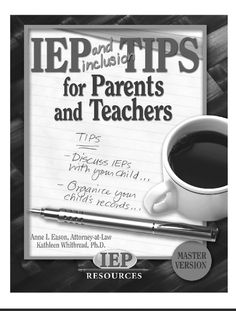 This is a great pin for SLP's, teachers and parents to reference to make sure we are doing what we need to be doing in terms of the IEP. It gives great innovative tips and allows others to see how to incorporate these things in and out of the classroom. Special Education Law, Attorney At Law, Power Of Positivity, Teacher Hacks, Disability, Letter Board, Centerpiece, Innovation, Pots