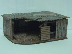Tin shed, roof comes off - orks - 40k