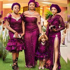 African Traditional Outfits Inspiration, Aso ebi ladies, Wedding Guests, Family Outfits, Part African Lace Dresses, Latest African Fashion Dresses, African Print Fashion, Ankara Fashion, African Lace Styles, African Clothes, African Prints, African Wedding Attire, African Attire