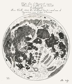world's first lunar atlas completed by German-Polish astronomer Johannes Hevelius