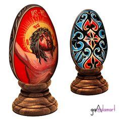 Ou pictat - piesa unicat Coasters, Eggs, Coaster, Egg, Egg As Food
