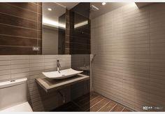 引光工宅_工業風設計個案—100裝潢網 Bathroom Lighting, House Design, Mirror, Furniture, Home Decor, Bathroom Light Fittings, Bathroom Vanity Lighting, Decoration Home, Room Decor