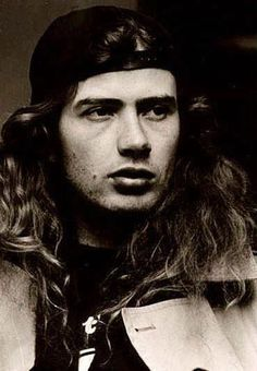 Dave Mustaine (September American guitarist, o. known from the bands Metallica and Megadeth. Heavy Metal Art, Heavy Metal Bands, Black Metal, Metallica, Hard Rock, Che Guevara, Dave Mustaine, Metal T Shirts, Band Photos