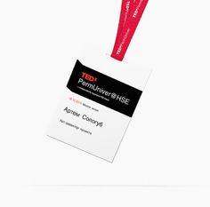 TEDx event branding by Artem Sologub, via Behance