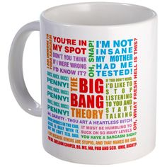CafePress - Big Bang Quotes Mug - Unique Coffee Mug, 11oz Coffee Cup -- See this awesome image  : Coffee Mugs