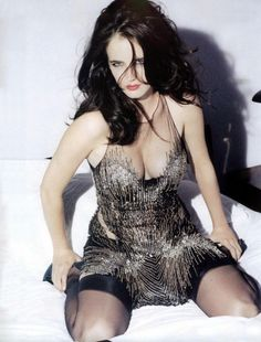 Eva Green de la série Penny Dreadful superbe en lingerie