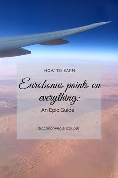 Earning Eurobonus points is something all travellers should do. You can use the points to buy tickets or upgrade to a higher class. With enough points per year you'll get access to lounges an… All Flights, Best Places To Travel, Lounges, Buy Tickets, Beach Day, Stay Tuned, Budget Travel, All Over The World, Everything