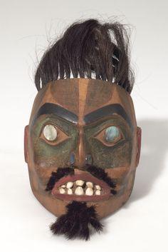 Tlingit shaman mask, 19th century. @cargocultist