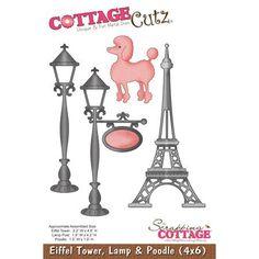 Die - Eiffel Tower, Lamp & Poodle