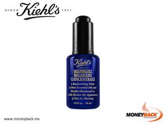 MONEYBACK MEXICO. Midnight Recovery Concentrate: a replenishing nighttime facial oil with distilled botanicals that visibly restores the appearance of skin by morning. Shop at KIEHLS in Mexico and get a tax refund with Moneyback! #moneyback www.moneyback.mx