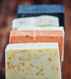 Organic Handmade Vegan Soap Sampler - 5 Pack