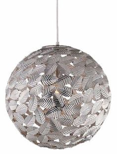 "[CasaGiardino]  ♛  METAL LEAF BALL PENDANT :: DINING & BEDROOM CHANDELIERS <BR>(20""-34"" DIA.) :: Ceiling lights Toronto, Bath and vanity lighting, Chandelier lighting, Outdoor lighting and kitchen lights :: Union"