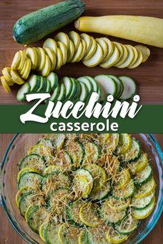 Zucchini & Summer Squash Casserole