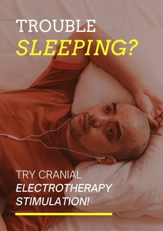 Introducing Cranial Electrotherapy Stimulation tool to help your patient get better sleep. #AcupunctureWorks #Acupuncturebenefits #tcm #traditionalchinesemedicine Acupuncture Benefits, Trouble Sleeping, Traditional Chinese Medicine, Get Well, Insomnia