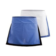 The all new Fila Women's Platinum Active Tennis Skort is a simple and stylish look with contrast trim outlining the front panel and back hem. The internal Forza Ball Shorts provide ease and support and use COOLMAX EVERDAY fabric in the crotch lining so you're sure to feel fresh through your longest matches. In the Persian Jewel skirt, the shorts are Bursting Marmalade.