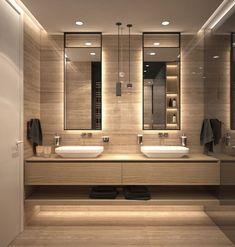 9 Design Tips for a Modern Bathroom Makeover - MV Interiors London Toilette Design, Bathroom Design Luxury, Bathroom Designs, Bathroom Ideas, Modern Luxury Bedroom, Luxury Decor, Bathroom Layout, Luxury Living, Bad Inspiration