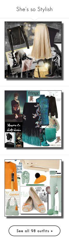 """She's so Stylish"" by kelly-floramoon-legg ❤ liked on Polyvore featuring women, Pinko, Burberry, Christian Louboutin, Galvan, Liebeskind, Roberto Cavalli, RIXO London, Aquazzura and fringe"