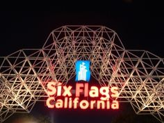 Six Flags, California- Home to the Goliath, Colossus and Deja Vu roller coasters.  There are oh so many roller coasters.