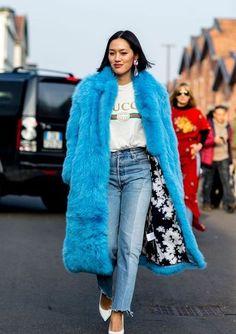 betrend.pt :: 15 Looks Com Casacos de Pelo Colorido