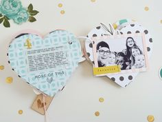 Felicity Jane oder *so happy! Style Scrapbook, Mini Scrapbook Albums, Baby Scrapbook, Scrapbook Cards, Scrapbooking, Project Life, Cute Gifts, Diy Gifts, Mini Books