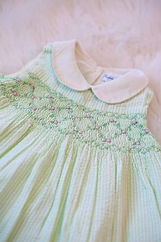 Shop sexy club dresses, jeans, shoes, bodysuits, skirts and more. Smocked Baby Clothes, Girls Smocked Dresses, Little Girl Dresses, Smocked Clothing, Smocking Baby, Smocking Patterns, Smocking Plates, Sewing Patterns, Frocks For Girls