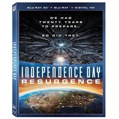 Independence Day Resurgence [3D + Blu ray]