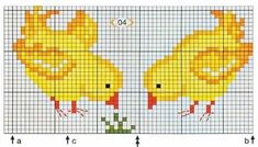Cross Stitch Embroidery, Cross Stitch Patterns, Needlework, Knitting, Coqs, Crafts, Mini, Disney, Projects