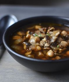 Recipe: Chorizo Soup with Shiitake Mushrooms & Chickpeas — Recipes from The Kitchn