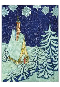 Michael Hague Christmas Cards