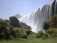 Tis Esat Falls on the Blue Nile River ~ Ethiopia Costa Rica, Ethiopia Travel, Mind Blowing Images, Nile River, Water Resources, All Nature, Amazing Nature, Blue Nile, National Parks
