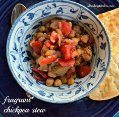fragrant chickpea stew   5 points +