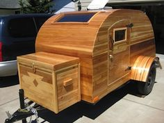They call it a Treehouse Trailer
