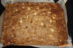 Skvelý rýchly a jednoduchý jablkový koláčik... momentálne najčastejšie pečený v našej rodine