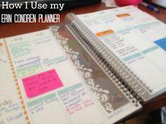 from the desk: Erin Condren Planner 2