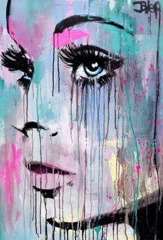 "Saatchi Art Artist Loui Jover; Painting, ""seeker"" #art"