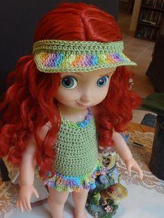 Crochet Disney 16 inch Animator Princess от dollcrochetboutique